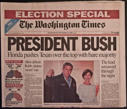 President Bush - OpinionatedMale.com