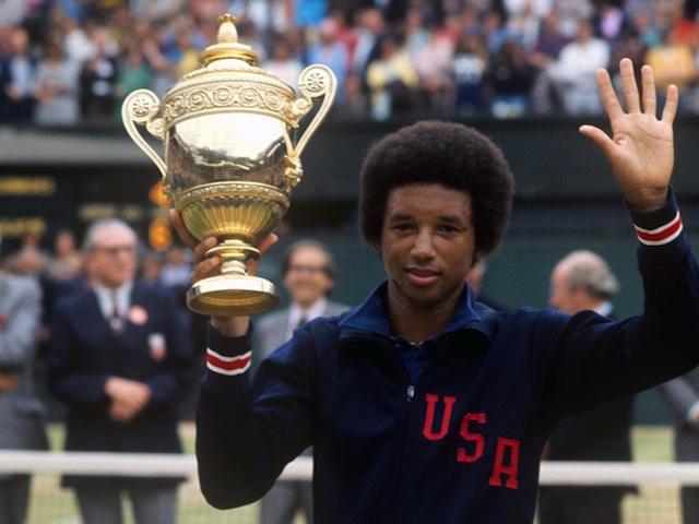 Tennis - Wimbledon Championships 1975 - Mens Singles Final - Arthur Ashe v Jimmy Connors - OpinionatedMale.com