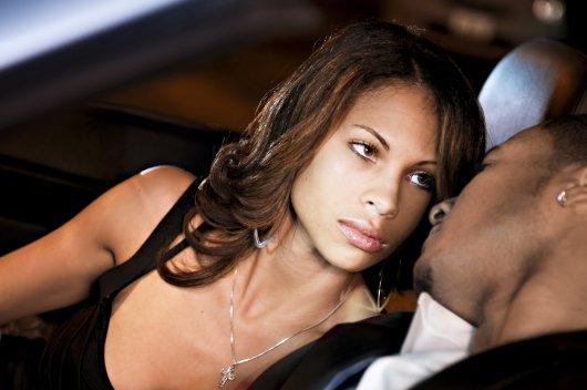 Upset Black Woman Black Man - OpinionatedMale.com