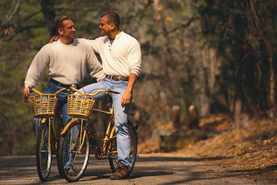Gay Guys On Bikes - OpinionatedMale.com