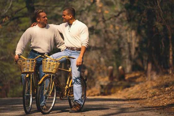 Gay Guys On Bikes - OpinionatedMale.com
