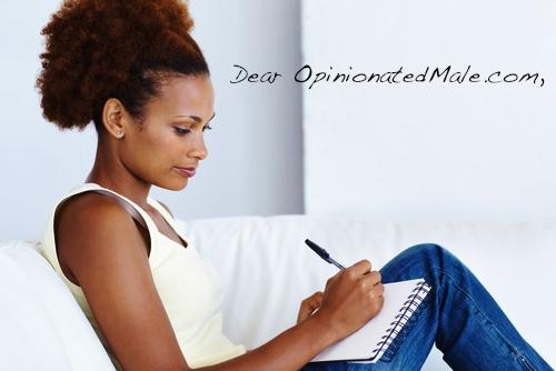 black-woman-writing 1-OpinionatedMale.com