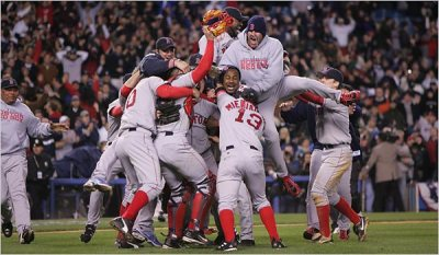 Red Sox Celebration - OpinionatedMale.com