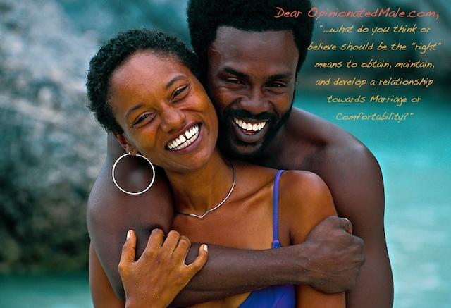 Bermudian couple at the beach, Horseshoe Bay, Bermuda - OpinionatedMale.com