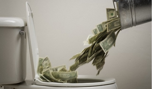 Wasting Money 1- OpinionatedMale.com