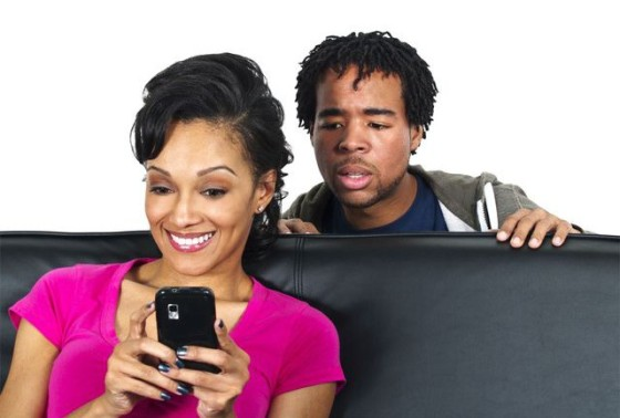 Cheating Snooping Cell Phone - OpinionatedMale.com
