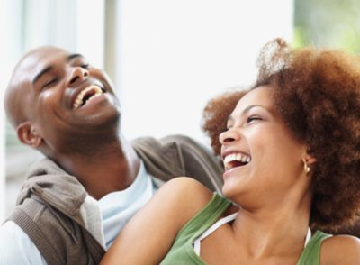 Man and Woman Laughing - OpinionatedMale.com