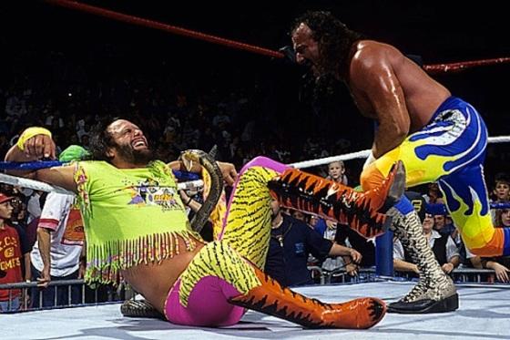 Randy Macho Man vs Jake The Snake 1 - OpinionatedMale.com