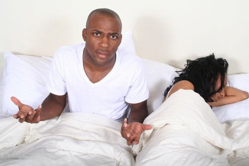 Black couple-in-bed - OpinionatedMale.com