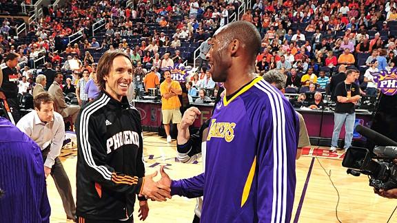 Kobe Bryant-Steve Nash - NBA - Basketball-Sports-Opinionatedmale.com